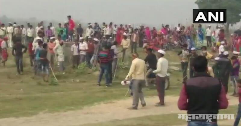 Transform Ganga Project, Farmers Protest against Yogi Sarkar, Unnav
