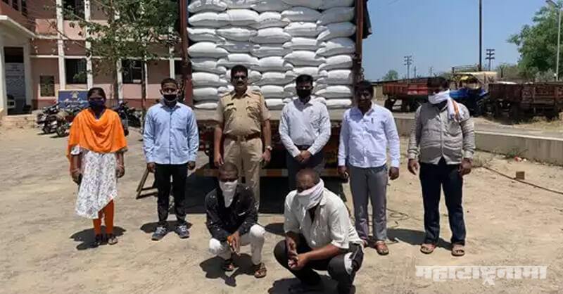 Two arrested, at Ahmednagar, supplying PDS rice, black market