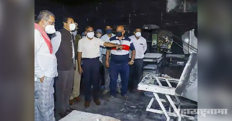 Two nurses, booked for negligence, Bhandara hospital, fire tragedy