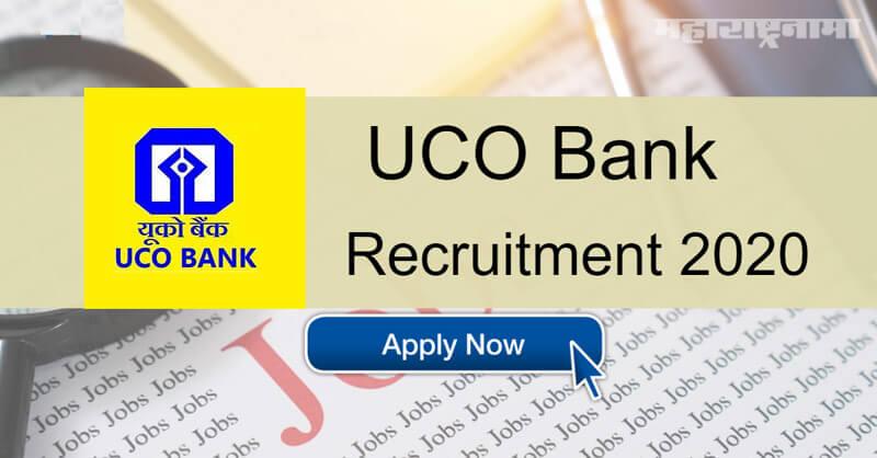 UCO Bank Recruitment 2020, Notification released, free job alert