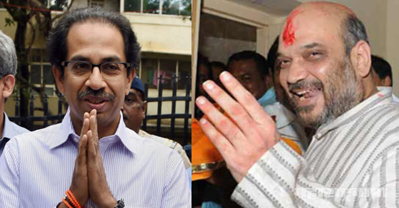 Udhav Thackeray, Uddhav Thackeray, Shivsena, Amit Shah, Maharashtra Assembly Election 2019, Maharashtra Vidhansabha Election 2019