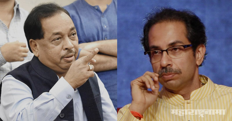 Chief Minister Uddhav Thackeray, BJP MP Narayan Rane