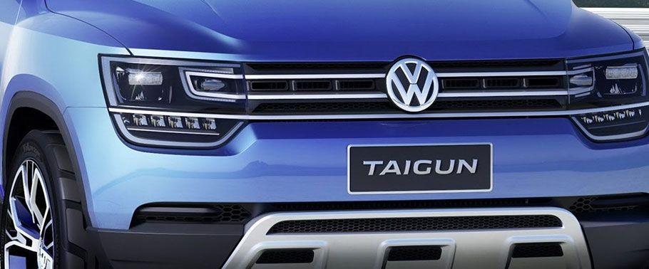 volkswagen taigun-grille