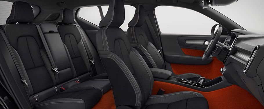 volvo xc40--seats-aerial-view