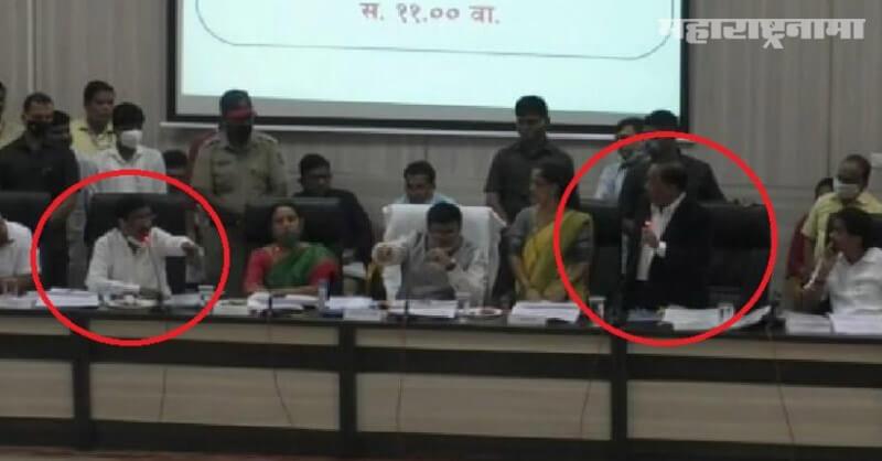Clashes, MP Narayan Rane, MP Vinayak Raut