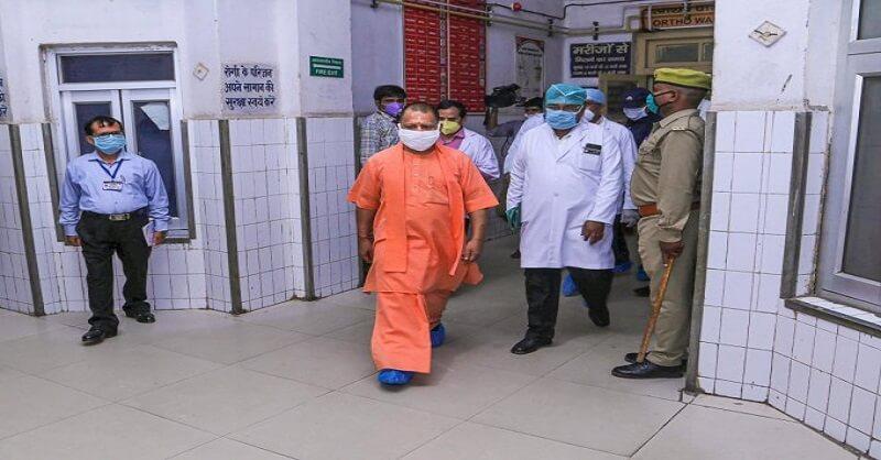 Uttar Pradesh Corona pandemic